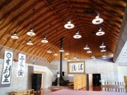 倫理研究所富士高原研修所エントランスホール