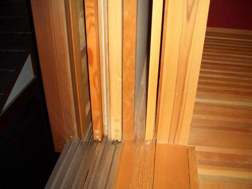 木製サッシ(加茂サッシの枠廻り)