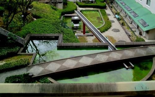 """井上武吉の""""哲学の庭""""-ウェスティン都ホテル京都"""