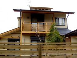 大和郡山城西の家