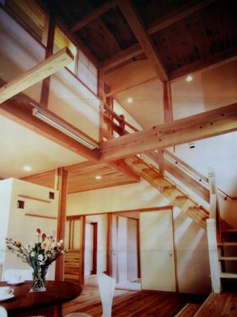 橿原・ジャングルジムの家1(スキップフロアのロフト空間)