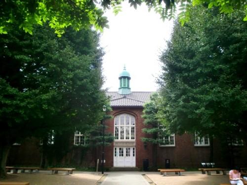 立教大学第一食堂の外観