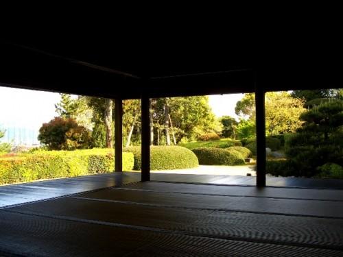 奈良県大和郡山・慈光院書院