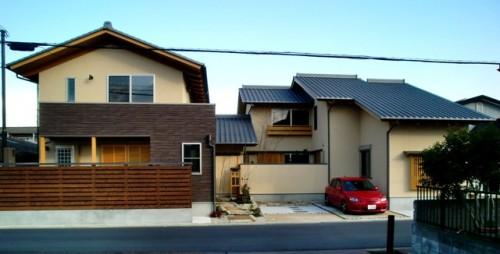 橿原飯高町の二世帯住宅2