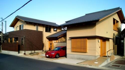 橿原飯高町の二世帯住宅1