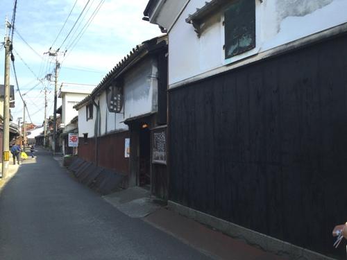 湯浅の町並み・北町通りの景観